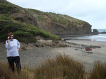 Xena film locations - Miss Amphipolis - Bethells Beach