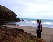Xena film locations - Return of Callisto - Bethells Beach