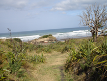 Xena film locations  -  Bethells Beach - Ulysses