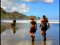 Xena film locations - Bethells Beach - Tsunami