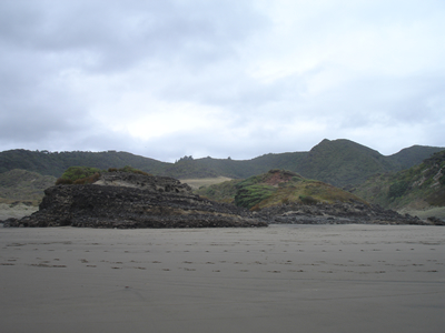 Xena film locations -  Bethells Beach